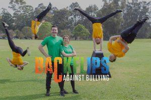 Our Team Backflips Against Bullying
